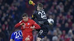 Markus Schubert kassierte fünf Treffer gegen den FC Bayern