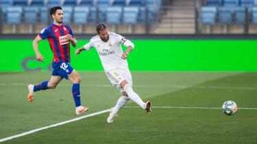 Ramos hizo una jugada digna de Franz Beckenbauer.