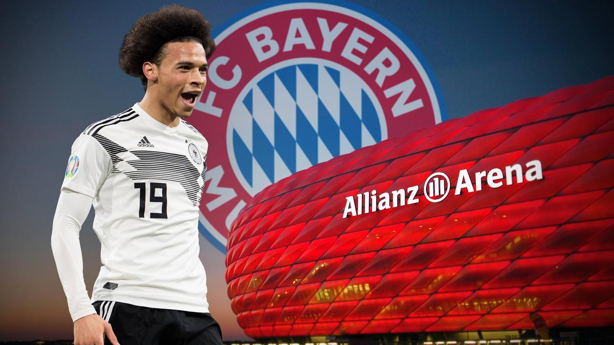 Der Transfer von Leroy Sané zum FC Bayern ist offenbar fix (Fotomontage)