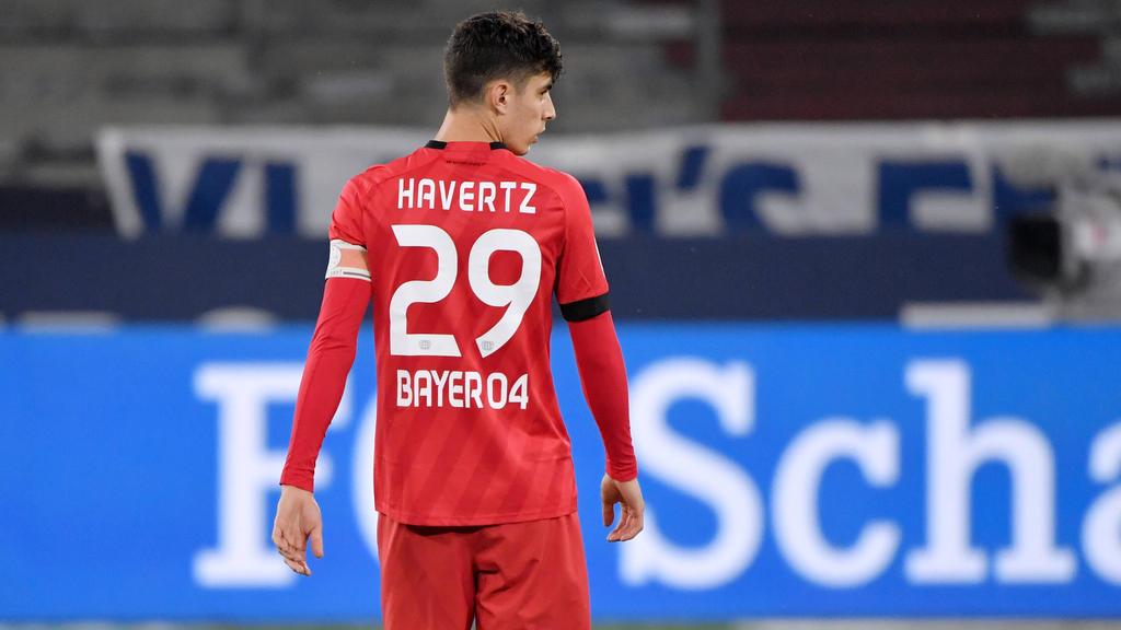Kai Havertz könnte Bayer Leverkusen verlassen