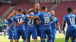 Die TSG Hoffenheim gelang ein später Sieg gegen den 1. FC Köln