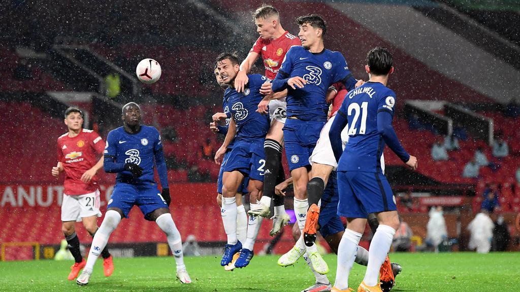Kein Sieger zwischen Manchester United und Chelsea