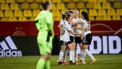 Die DFB-Frauen haben Belgien mit 2:0 geschlagen