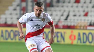 Lukas Podolski absolvierte sein wohl letztes Spiel für Antalyaspor