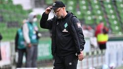 Thomas Schaaf stieg mit Werder Bremen in die 2. Bundesliga ab
