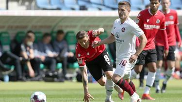 Hannover 96 unterliegt dem 1. FC Nürnberg