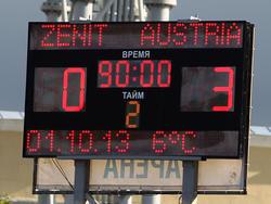 Austria gewinnt wieder in der Youth League