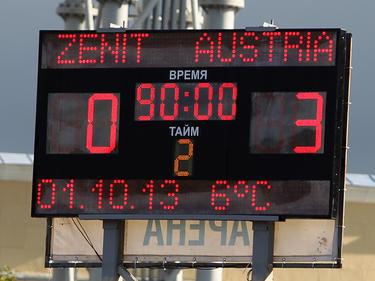 Bereits das zweite Mal konnten die Jung-Veilchen in der Youth League überzeugen. Zenit wurde auswärts mit 3:0 geschlagen