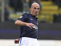 Esteban Cambiasso, centrocampista dell'Inter