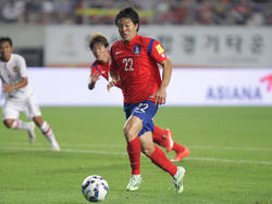 Kwon Chang-hoon en un partido frente a Laos. (Foto: Getty)