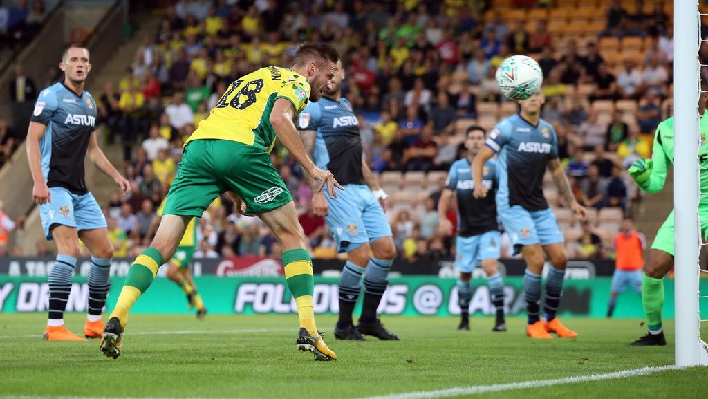Marco Stiepermann kickt mittlerweile für Norwich City