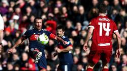 Der ehemalige Bayern-Spieler Lothar Matthäus stand im vergangen März beim Legenden-Spiel selbst gegen Liverpool auf dem Feld