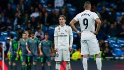 Real Madrid taumelt durch die Primera División