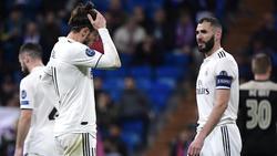 Gareth Bale und Co. stehen bei Real Madrid vor einem Scherbenhaufen