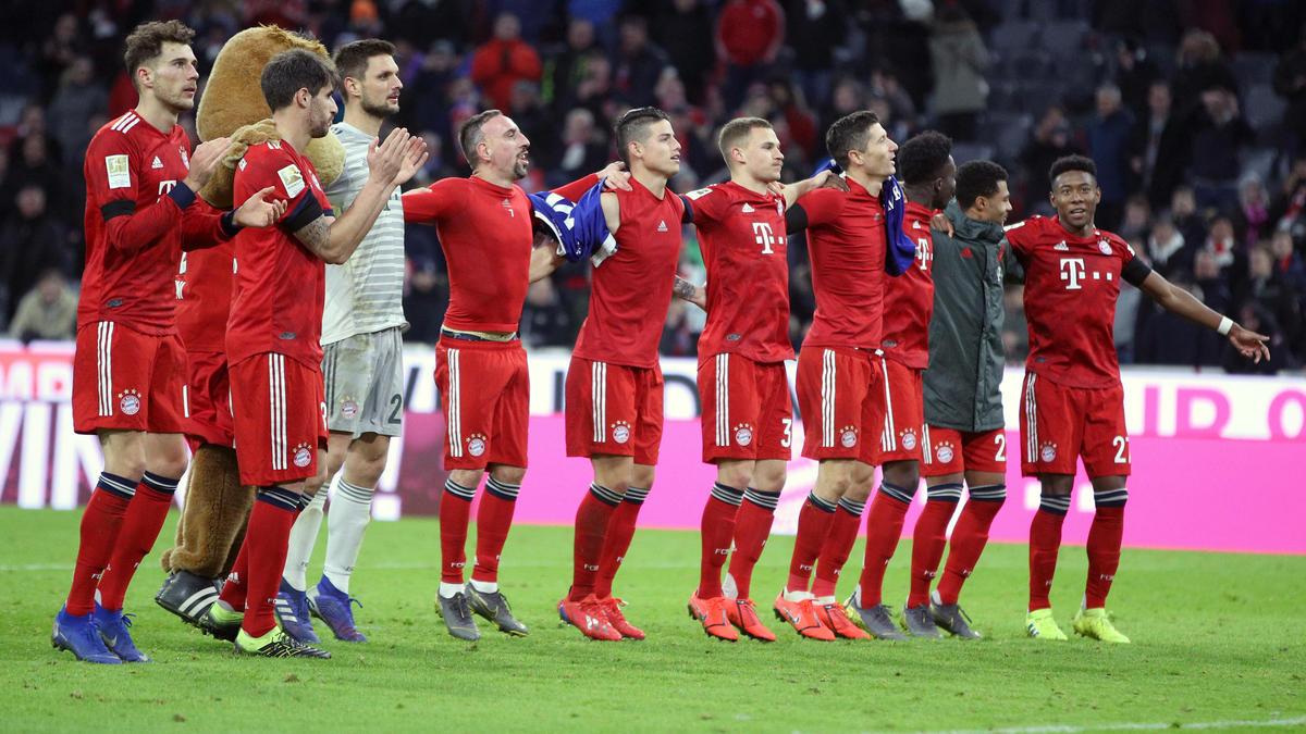 FC Bayern: Das ist das Restprogramm der Münchner in der Fußball-Bundesliga 2019
