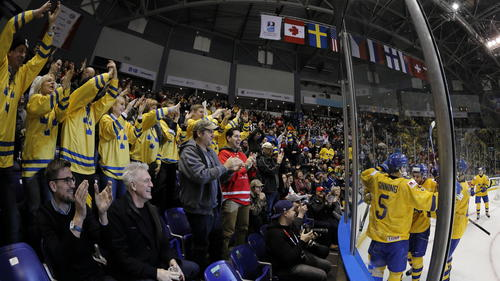 Schweden hatte gegen Österreich keine Probleme