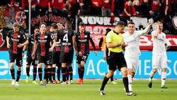 Bayer Leverkusen feierte einen historischen Sieg gegen Eintracht Frankfurt