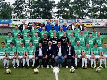De selectie van Westlandia, dat in het seizoen 2016/2017 uitkomt in de Derde Divisie Zondag. (02-06-2016)