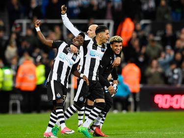 Unbändige Freude bei den Kickern von Newcastle United