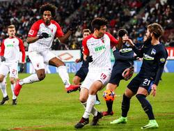 Hertha BSC und der FC Augsburg müssen sich mit einem Remis zufrieden geben