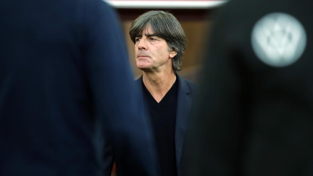 Joachim Löw klagt über viele Ausfälle in der Nationalmannschaft