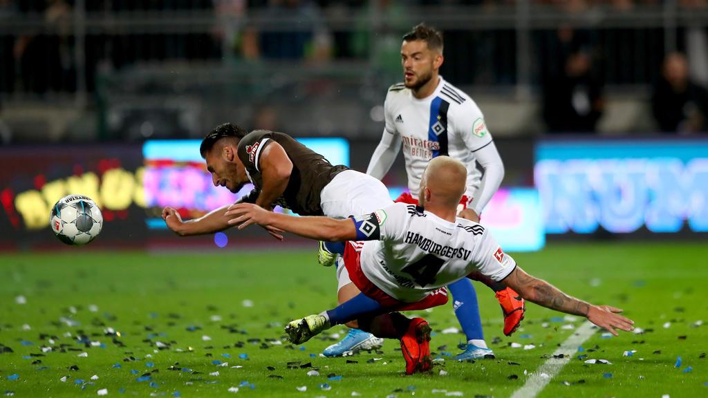 Der HSV trifft auf den FC St. Pauli