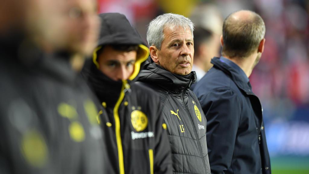 BVB-Trainer Lucien Favre ließ sich von einer Taktik-Veränderung überzeugen