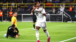 Serge Gnabry vom FC Bayern überragte beim Remis gegen Argentinien