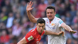 Christian Gentner (r.) lieferte mit Union Berlin beim FC Bayern einen ordentlichen Auftritt