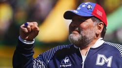 Diego Maradona ist derzeit als Trainer aktiv