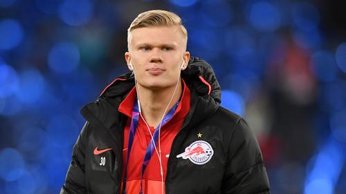 Erling Haaland wird vom BVB und von RB Leipzig umworben