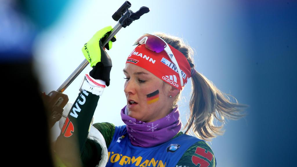 Denise Herrmann sieht das deutsche Biathlon-Team gut aufgestellt