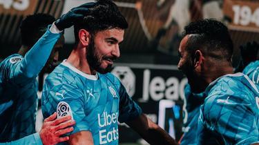 El Olympique de Marsella sigue en la lucha por el título.