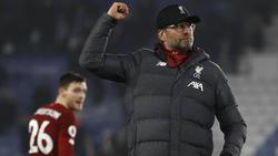 Jürgen Klopp und der FC Liverpool sind auf dem Weg zum Titel