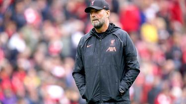 Jürgen Klopp nach der Partie gegen Burnley genervt