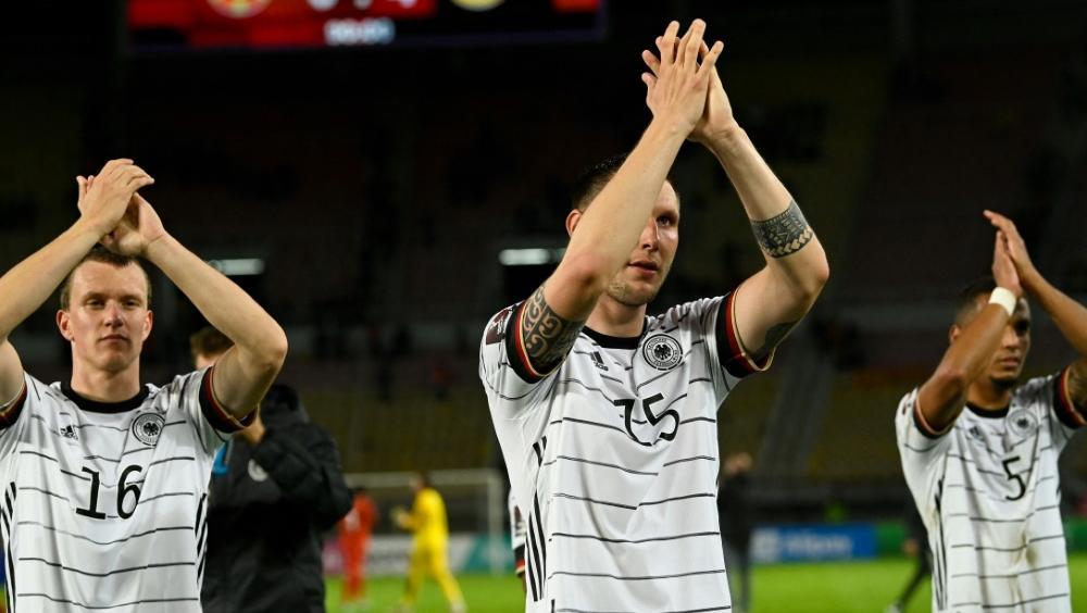 Der DFB-Elf gelang in Skopje die WM-Qualifikation