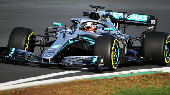 Schon 2019 absolvierte Mercedes einen Shakedown in Silverstone