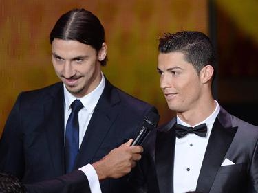 Zlatan y Cristiano volverán a verse sobre el césped.