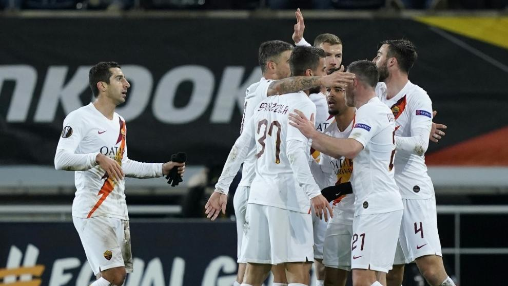AS Rom quält sich ins Achtelfinale der Europa-League