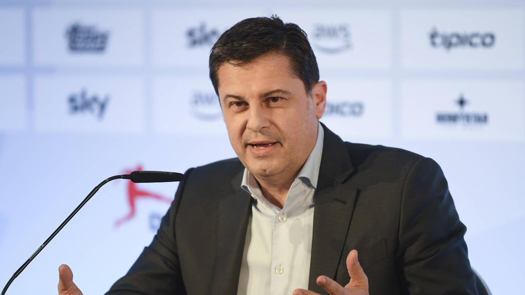 DFL-Geschäftsführer Seifert macht Pläne für eine mögliche Liga-Fortführung