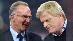 Oliver Kahn (r.) wird am 1. Januar 2022 Vorstandsvorsitzender beim FC Bayern