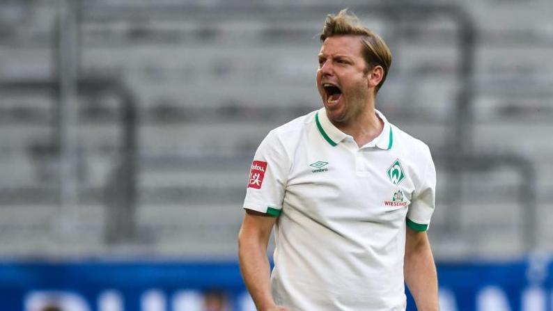 Florian Kohfeldt steht mit Werder Bremen vor wegweisenden Spielen