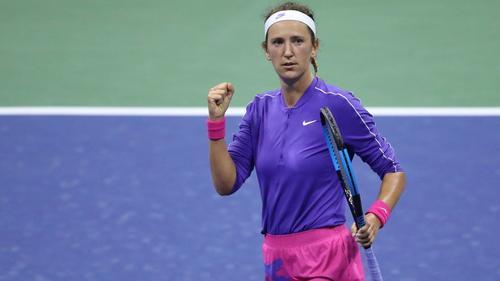 Viktoria Azarenka steht im Halbfinale der US Open.