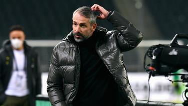 Gladbach-Trainer Marco Rose will dem FC Bayern ein Bein stellen