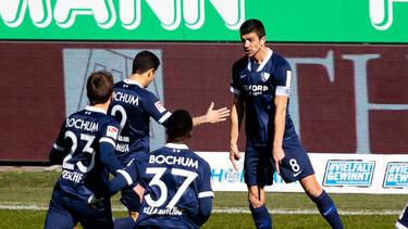 Der VfL Bochum steht weiter an der Tabellenspitze der 2. Fußball-Bundesliga