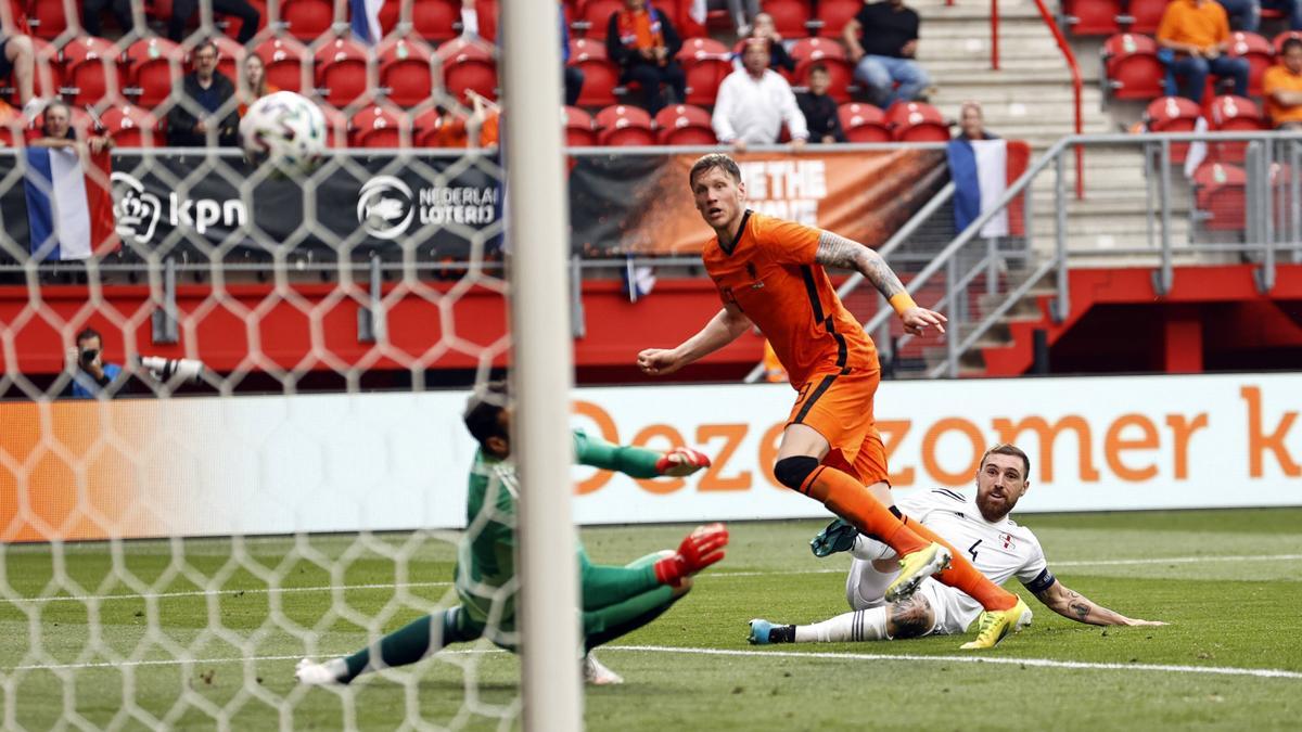 Weghorst erzielte seinen ersten Länderspieltreffer
