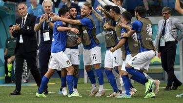Seit 30 Spielen in Serie ungeschlagen: Italiens Nationalmannschaft
