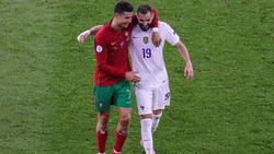 Cristiano Ronaldo und Karim Benzema trafen im direkten Duell doppelt