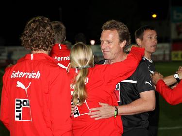 Rupert Marko und sein Trainerteam