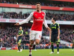Olivier Giroud schießt Arsenal im Alleingang ins Viertelfinale